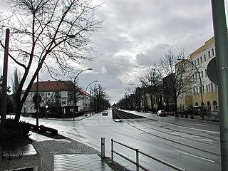 Karlshorst Quarter of Berlin in Germany
