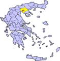 Triandria Thessaloniki Greece - Locator Map.png