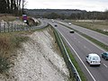 Tring Bypass (A41) - Chiltern Hills in the distance - geograph.org.uk - 1202583.jpg