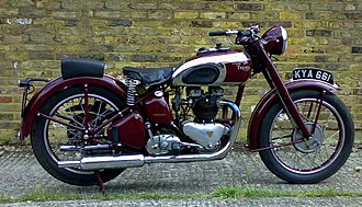 Straight-twin engine - Edward Turner's Triumph Speed Twin popularised the straight-twin engine design