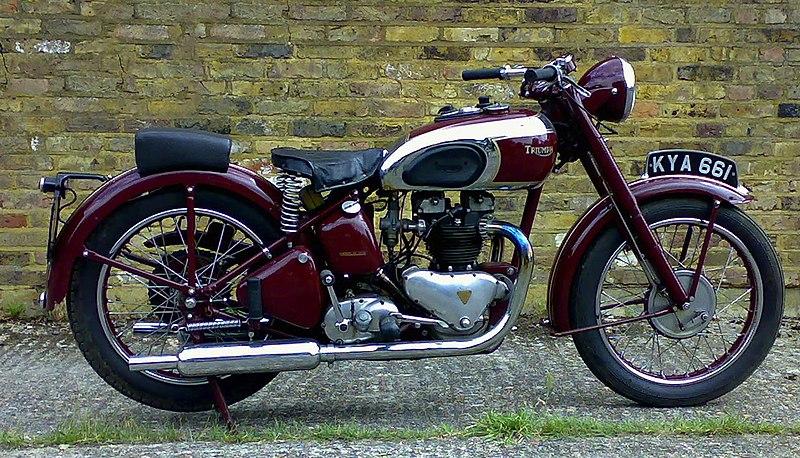 Vintage Ducati Motorcycle Poster