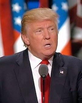 Donald Trump en 2016