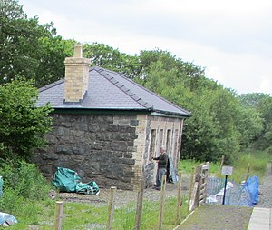 Tryfan Junction railway station - The station in 2012