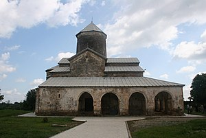 House of Dadiani - Tsalenjikha Cathedral which contains the Dadiani dynastic chapels.