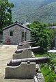 Tung Chung Fort, cannons on ramparts, Tung Chung, Lantau Island (Hong Kong).jpg