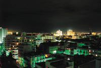 Night view from Tunis