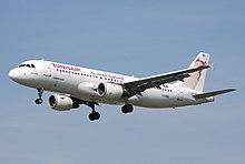 Tunisair suivi vol