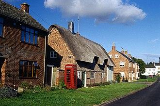 Tur Langton - A street in Tur Langton.