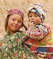 Turkmen girl and baby.jpg