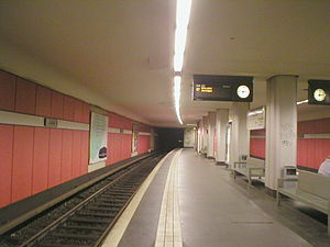 Rudow - Image: U Bahn Berlin Rudow