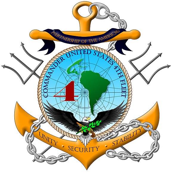 File:U.S. Fourth Fleet badge.jpg