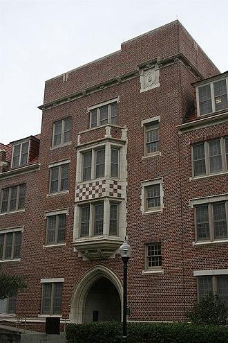 Murphree Area - Image: UF Historic Building Fletcher Hall