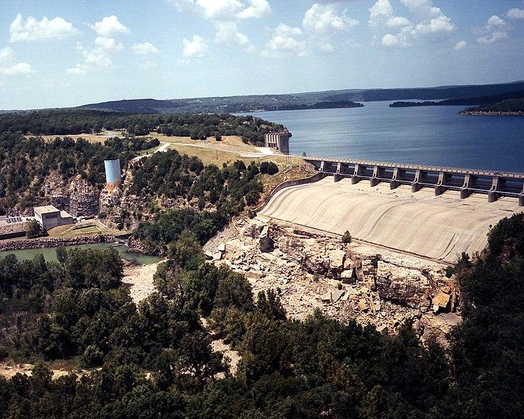 File:USACE Tenkiller Lake and Dam.jpg