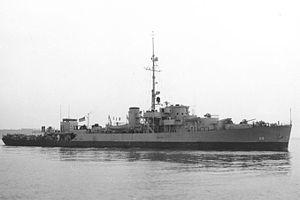 USS Beaufort (PF-59) - Image: USS Beaufort PF 59