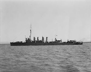 USS Hovey (DD-208) - Hovey in June 1942.
