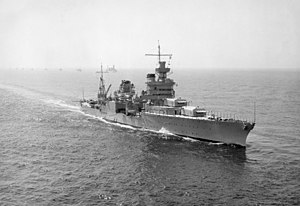USS Indianapolis (CA-35) - Indianapolis in 1939