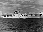 USS Wasp (CV-7) anchored at Guantanamo Bay on 27 October 1940 (NH 43462).jpg