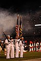 US Navy 080920-N-2539L-099 An honor guard parades the colors.jpg
