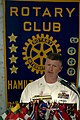 US Navy 090610-N-9818V-176 Master Chief Petty Officer of the Navy (MCPON) Rick West delivers remarks at the Hamilton Place Rotary Club luncheon. West is in Chattanooga to support Navy Week 2009.jpg