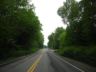 U.S. Route 2 - A section of highway traveling through New Hampshire