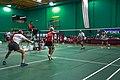 US Senior International Badminton Tourney (Miami) - MX 60 Final - Ian & Sanne def Curt & Susan 21-16, 11-21 & 21-9 (16649791855).jpg