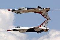 美国空军雷鸟飞行表演队