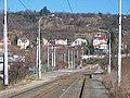 U Vltavy, Pod lisem, tramvajová trať.jpg