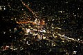 Ueno station from the air at night.jpg