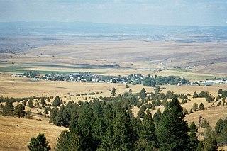Ukiah, Oregon City in Oregon, United States