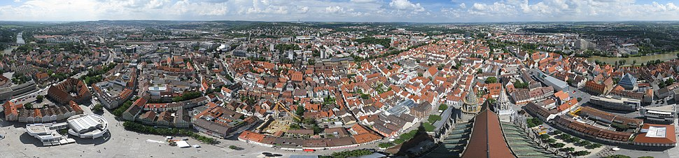 Panorama of Ulm