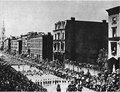 Ulysses S. Grant's funeral procession, NYC, 8 Aug 1885.png