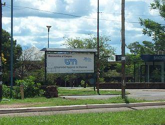 National University of Misiones - The UNaMs campus in Posadas, Misiones