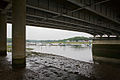 Underneath M27 motorway bridge over River Hamble - geograph.org.uk - 1375261.jpg