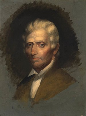 Daniel Boone - Image: Unfinished portrait of Daniel Boone by Chester Harding 1820