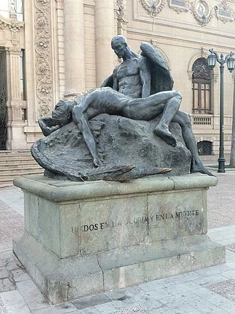 Rebeca Matte Bello - Icarus and Daedalus (1922)