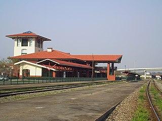 Union Station (Meridian, Mississippi) railway station in Meridian, Mississippi, United States