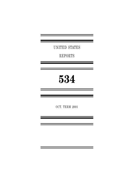 File:United States Reports, Volume 534.djvu