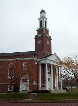 University Heights, Buffalo - Image: University Presbyterian Church Buffalo NY Nov 10