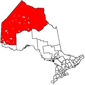 Unorganized Kenora District - Image: Unorg Kenora