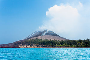 Geography of Indonesia - Anak Krakatau.