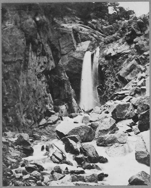 File:Ute Falls, In Ute Pass, Colorado