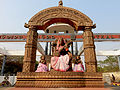 Utkal University Main Gate Statues.jpg