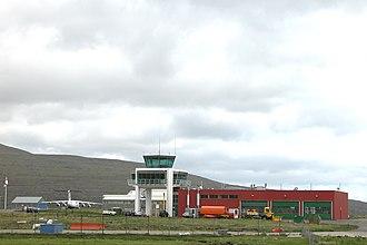 Vágar Airport - Image: Vágar Airport, Faroe Islands