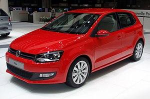 VW Polo MkV at the 2009 Geneva Motor Show