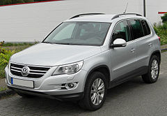 Volkswagen Tiguan przed face liftingiem