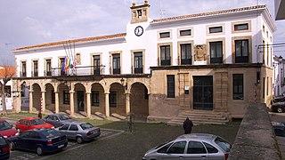 Valencia de Alcántara Municipality in Extremadura, Spain