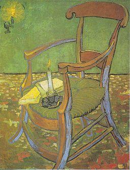 Van Gogh - Paul Gauguins Stuhl (Der leere Stuhl)