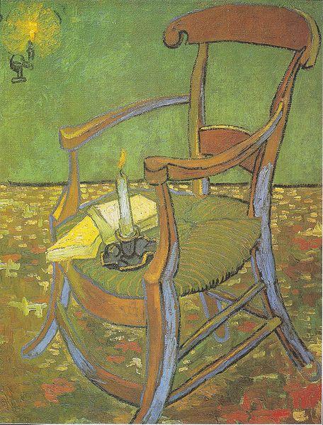 File Van Gogh Paul Gauguins Stuhl Der Leere Stuhl