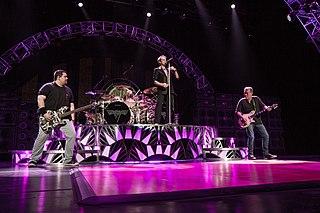 Van Halen American hard rock/heavy metal band