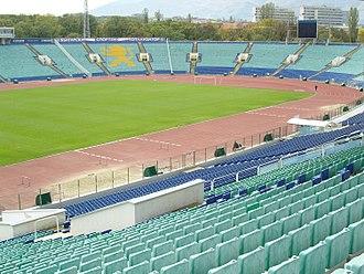 Vasil Levski National Stadium - Image: Vassil Levski National Stadium in Bulgaria